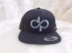 DP Gray on Gray Snapback- Front