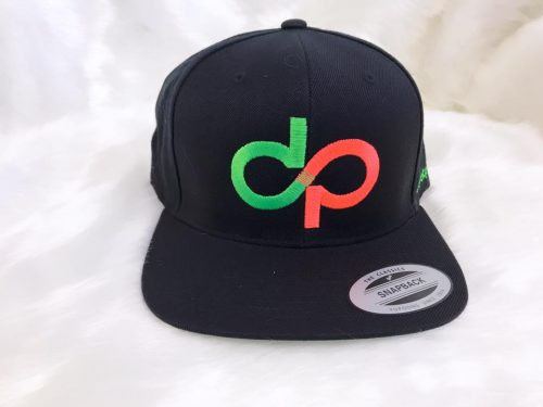 DP Black Snapback with GRN logo- Front